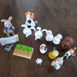 Other - Secret Life of Pets/plush & Peter Rabbit toys